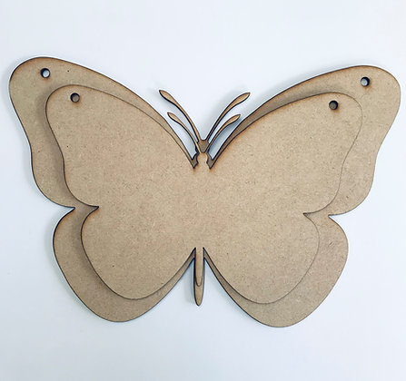 Hanging Butterfly Panels