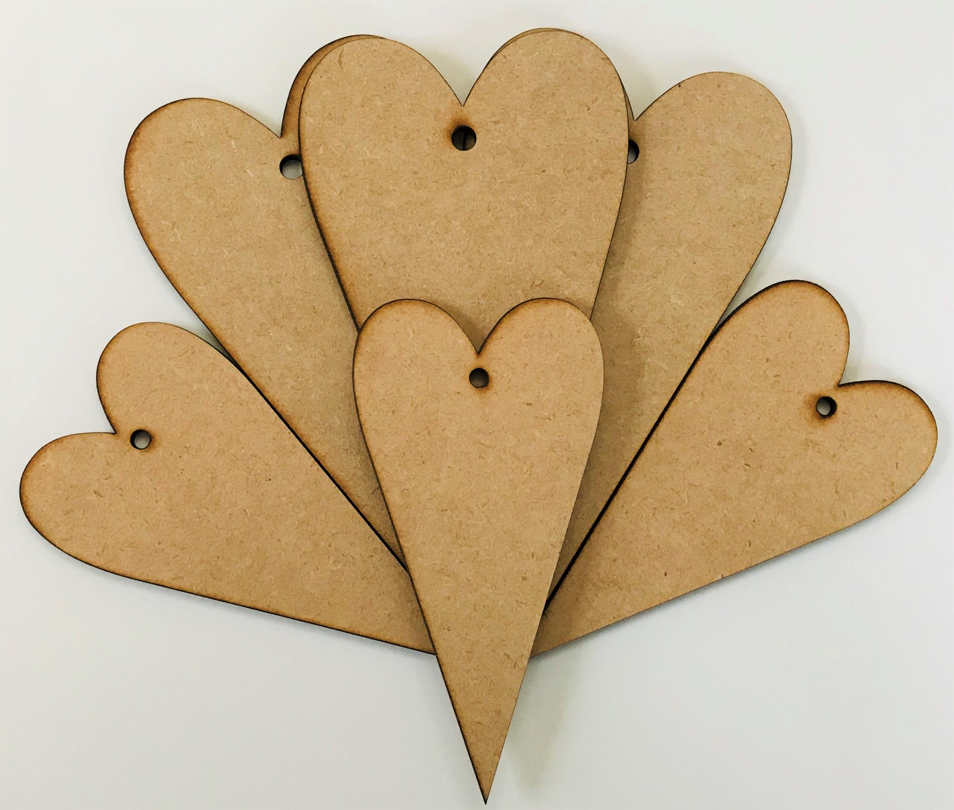 Primitive Hearts x 6