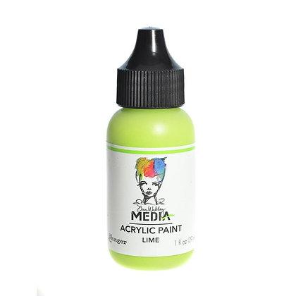 Dina Wakley Media Heavy Body Acrylic Paint - Lime