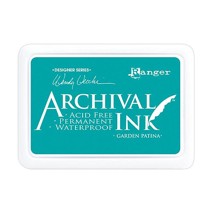 Archival Ink Pad - Garden Patina by Wendy Vecchi