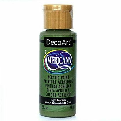 Deco Art Americana Acrylic Paint - Light Avocado