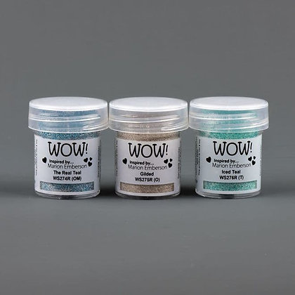 Wow! Trio Toteally Amazing Embossing Glitters