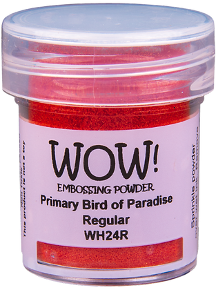 Wow! Primary Bird of Paradise Embossing Powder