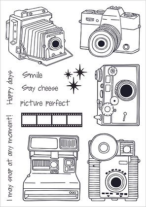 Snap Happy A5 Stamp Set