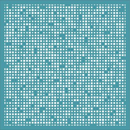 Micro Squares Stencil