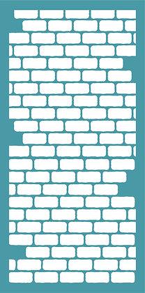 Slimline Brick Wall - upright