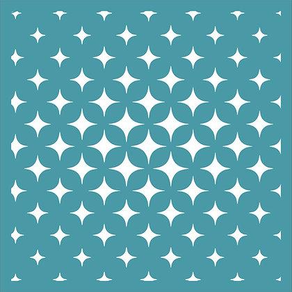 Star Fade Stencil