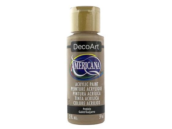 Deco Art Americana Acrylic Paint - Pebble