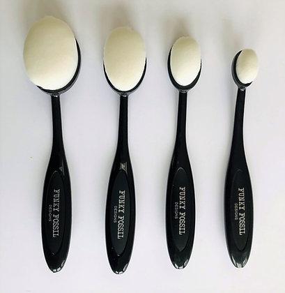 Funky Fossil Blending Brushes x4
