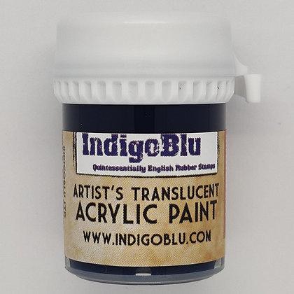 IndigoBlu Artist Matte Acrylic Paint - Stroke of Midnight, 20ml