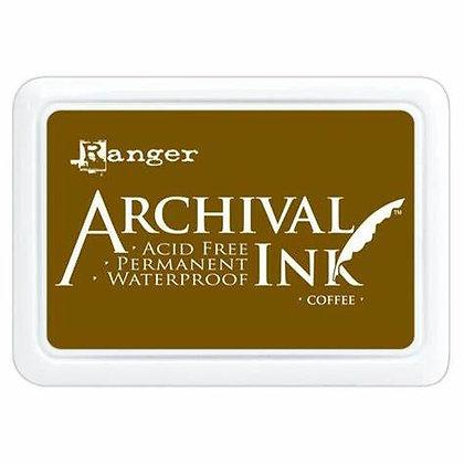 Ranger Archival Ink Pad - Coffee
