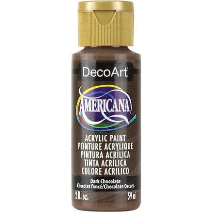 Deco Art Americana Acrylic Paint - Dark Chocolate