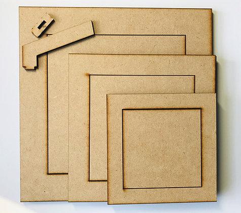 Set of Square Frames