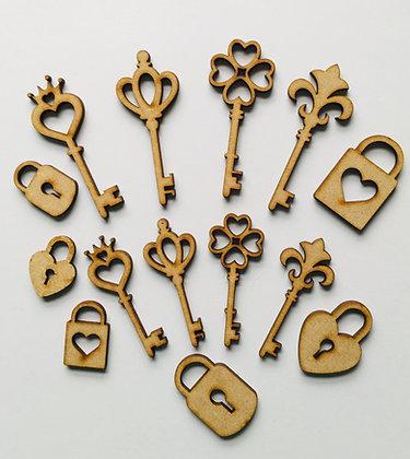 Key and Lock Embellishments