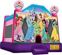 Disney Princess Bounce House Chris's Jumper Rentals Downey, CA