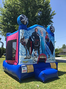 Disney Frozen Bounce House Chris's Jumper Rentals Downey, CA