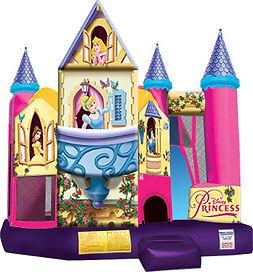 Disney Princess 3D Backyard Combo  Chris's Party Rentals Whittier,CA