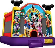 Mickey Park Bounce House  Chris's Jumper Rentals Downey, CA