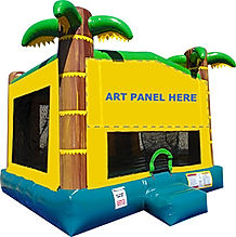 Tropical Bounce House Chris's Jumper Rentals Downey, CA