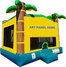 Tropical Module Bounce House Chris's Jumper Rentals Downey, CA
