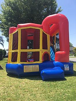 Backyard Combo  Chris's Jumper Rentals Downey, CA