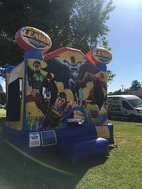 Justice League Jumper  Chris's Party Rentals Whittier,CA