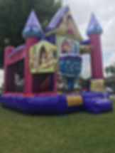 Disney Princess 3D Backyard Combo  Chris's Jumper Rentals Downey, CA