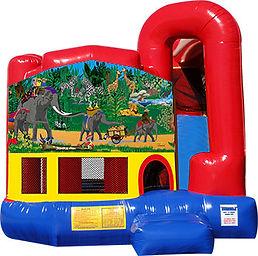 Jungle Book Fun Backyard Combo Chris's Jumper Rentals Whittier,CA
