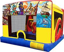 Pirates Theme 5 in 1  Mini Combo Chris's Jumper Rentals Downey, CA