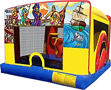 Pirates Theme 5 in 1 Mini ComboChris's Jumper Rentals Downey, CA