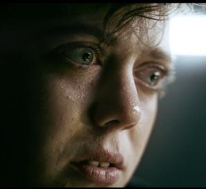 Still from short film, Black Pill