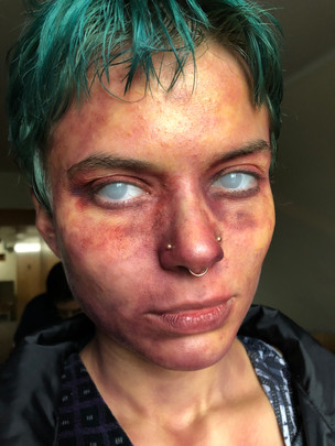 Makeup for short film, The Cleaner