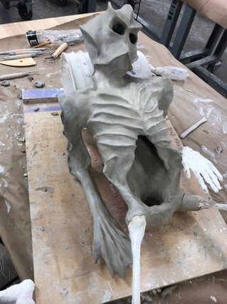 Clay Creature Sculpts