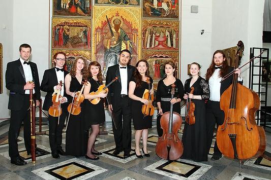 'Les Bougies Baroques' Malta group photo