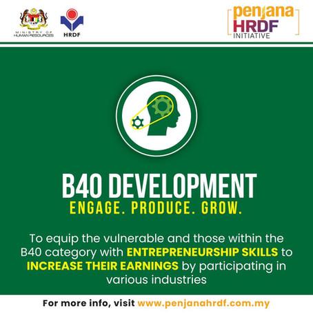 Penjana HRDF B40 Development