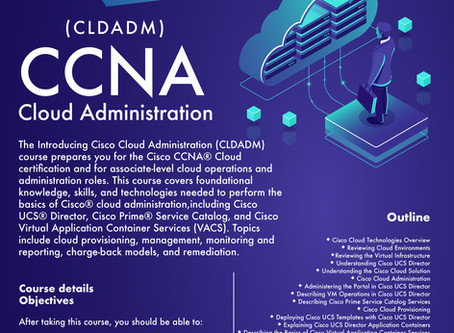 Cisco Cloud Administration