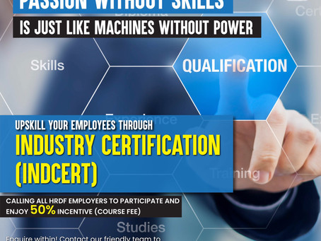"Industry Certification (""INDCERT"")"
