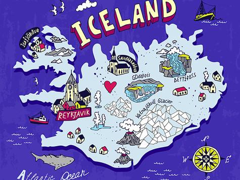 冰島極光下的暖暖小確幸