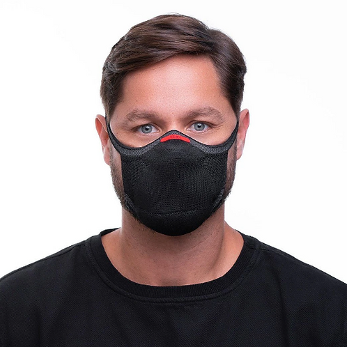 Máscara Preta Knit Fiber