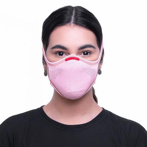 Máscara Rosa Knit Fiber