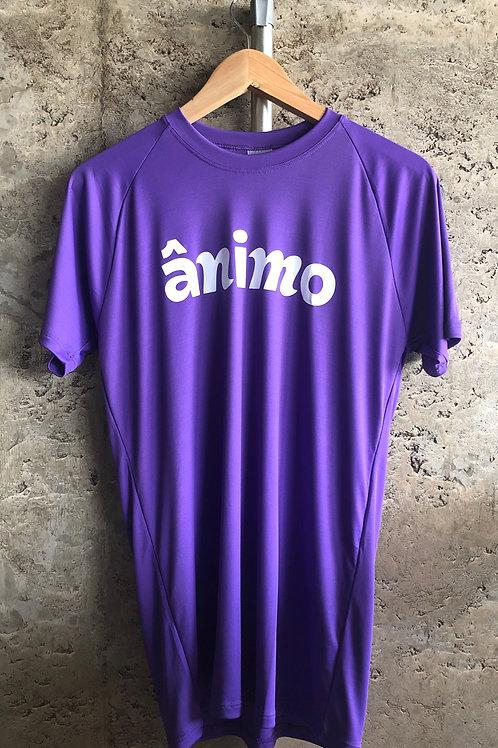 Camiseta ÂNIMO Logo Roxa | 50% OFF