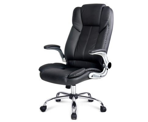 president office chair black. The President Office Chair Has A Modern Contemporary Design. This Comfortable High Back And Vinyl Upholstery. Black O
