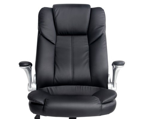 president office chair black. The President Office Chair Has A Modern Contemporary Design. This Comfortable High Back And Vinyl Upholstery. Black
