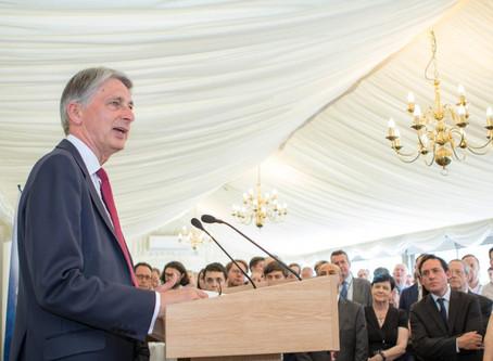 Summer Reception: Chancellor Philip Hammond