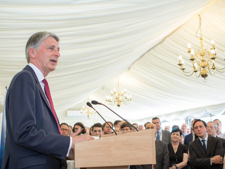Summer Reception: Chancellor Philip Hammond
