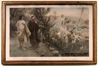 S. Postiglione, Dante (in Paradiso) et Mathilde