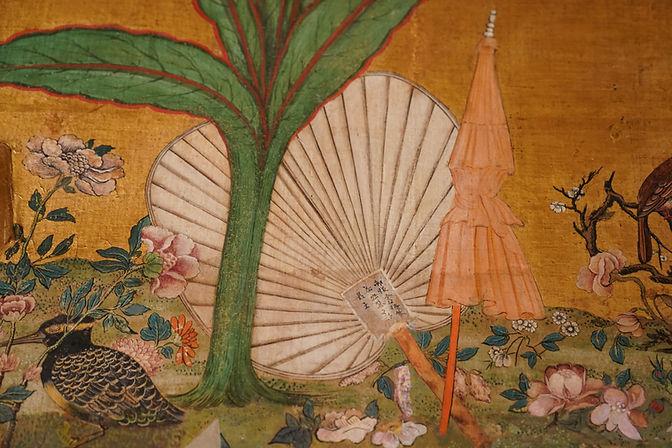 Salotto Cinese ventaglio