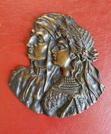 Fermacarte in bronzo
