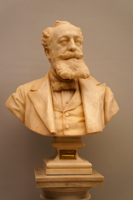 Marble bust of Marco Besso