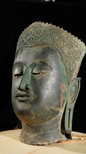 Buddha head from Siam